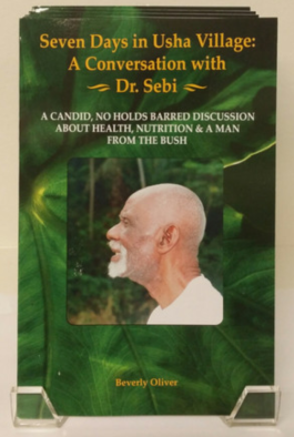http://www.drsebiscellfood.com/collections/books-and-media/products/seven-days-in-usha-village-a-conversation-with-dr-sebi